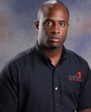 Dwayne Bayley of Allegiance Security Services
